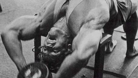 Dumbbell Pull-Over Exercise Arnold Schwarzenegger