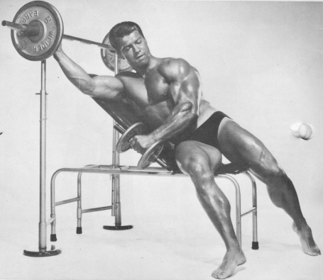 Larry Scott Incline Bench Lateral Raise