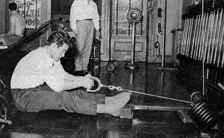 Steve Reeves Seated Cable Row Protracted
