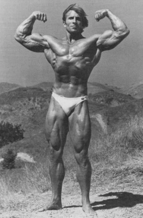epic bodybuilding pose front double biceps steve davis